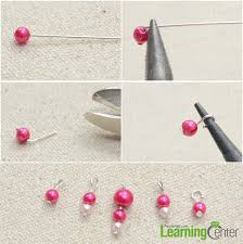 step 1 prepare beaded dangles