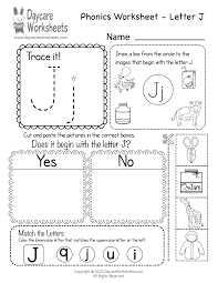 Practice lowercase letter p recognition and basic phonics with this alphabet worksheet. Free Printable Letter J Beginning Sounds Phonics Worksheet For Preschool
