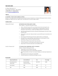 Captivating Production Planning And Control Resume 42 For Resume Examples  with Production Planning And Control Resume