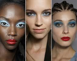 spring summer 2016 makeup trends blue eye makeup