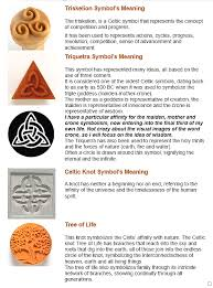 Celtic Knot Symbols And Meanings Chart Celtic Madness Malden Brook Pottery