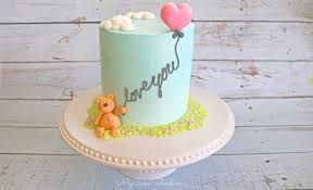 Design My Cake Teddy Bear And Balloon Cake A Free Cake Decorating Video