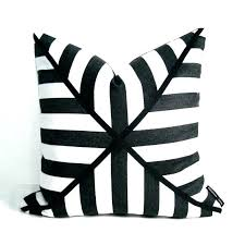 black and white outdoor cushions pillow cover cushion stripe chair wh black and white stripe outdoor chair cushions