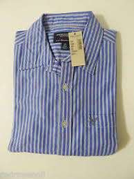 Ae Size Chart Details About American Eagle Men Blue Striped Shirt Ae Long Sleeve Top L Tall Great Gift New