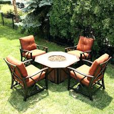 patio table sets blogs create another outdoor room with furniture surrounding a gas fire pit and