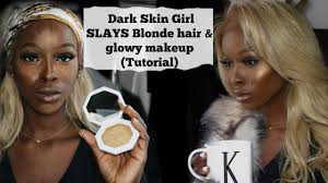 dark skin s can t wear blonde hair says who