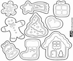 Small Picture Christmas Cookies coloring pages printable games