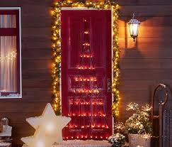 Bezaubernde weihnachtsdeko die ganz viel glanz in ihre wohnung bringt. Weihnachtsbaum Vorhang Tchibo