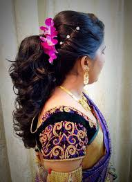 35 wedding hairstyles for brides with long hair. Reception South Indian Wedding Hairstyles For Short Hair Addicfashion