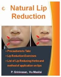 natural lip reduction guide