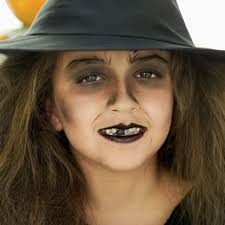witch face paint ideas for