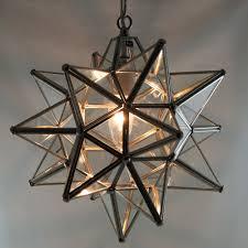 metal star pendant light moravian star foyer light large bulb pendant light