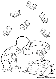 curious george print free printable curious coloring pages the cute adorable curious has captured curious george curious george