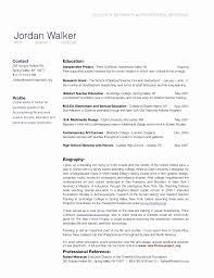 Resume Bio Example Letter Sample Format Data Cv Biodata Free