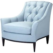 blue and white accent chair. Blue Accent Chair With Arms White Chairs And Large Back On Black . L