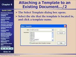 Using Templates and Library Items - ppt download