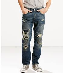 511 slim fit destructed stretch jeans