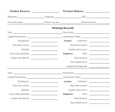Pta Templates A Treasurer Report Template Excel And Templates Pta Specialization