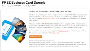 10 Free Business Cards 10 Free Business Card Samples From Moo Sassy Dealz