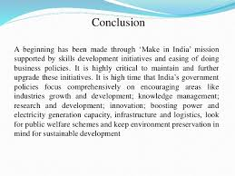 role of make in mission for poverty alleviation and sustainab conclusion