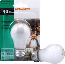 sylvania 40w appliance light bulb incandescent a15 um base walmart