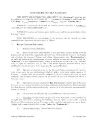 Reseller Terms And Conditions Template Distribution Agreement
