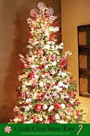 How To Decorate A Candy Cane Christmas Tree Christmas Tree 60 A to Zebra Celebrations 16