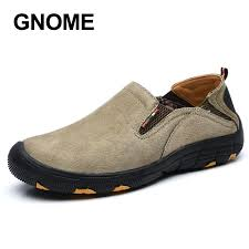 gnome big size 48 men casual leather shoes slip on loafers mens moccasins italian designer boat shoes plus fur male footwear blue shoes clogs for women from