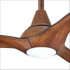simple wood ceiling fan design koa minka aire wave distressed