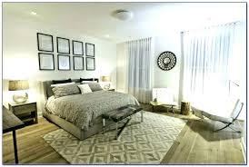 area rug under bed storage