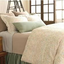 pine cone hill duvet watercolor dots cover classic ruffle