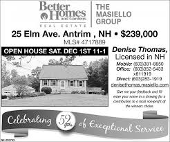 open house better homes and gardens the masiello group peterborough nh