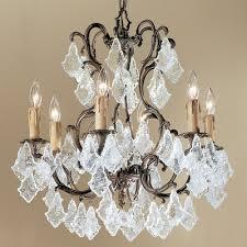 parisian 6 light chandelier crystal type antique italian 5756 agb ai