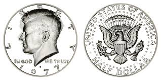 1972 Kennedy Half Dollar Value Chart 1977 S Kennedy Half Dollar Coin Value Prices Photos Info