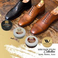 com w shoe care shoe polish brown black and neutral home improvement
