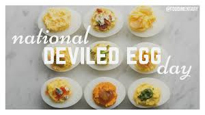 November 2nd is National Deviled Egg Day! | Foodimentary ...