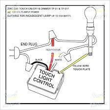 touch light controls touch lamp control box switch wiring diagram zing ear light table dimmer of