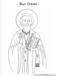 Saints Coloring Pages Catholic Playground Saint Coloring Pages Free