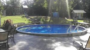 sunken above ground swimming pools. Delighful Swimming On Sunken Above Ground Swimming Pools O