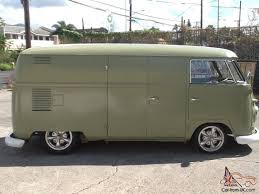 1961 vw panel bus rebuilt motor new paint new interior upholstery brakes