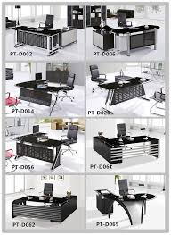 tempered glass office desk. perfect office black tempered glass office executive desk boss ptd023 to tempered glass office desk e