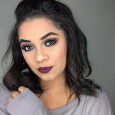 fall makeup look clear eyes
