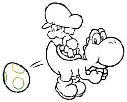 Small Picture Yoshi coloring pages free to print ColoringStar
