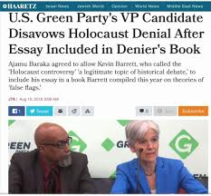 "zionists launch ""holocaust denial"" smear into us presidential  1 baraka stein haaretz"