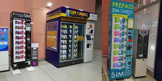 Japan Sim Card Vending Machine Interesting Kansai Airport Prepaid SIM Card Vending Machines VisitJapanPlaces