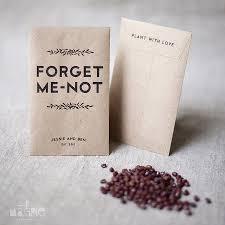 printable seed wedding favors