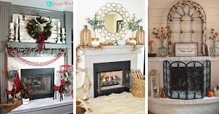 19 best fireplace decor ideas and