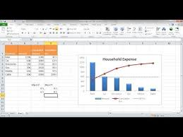 Excel Chart Goal Line Create A Pareto Chart With A Target Line Youtube I 3