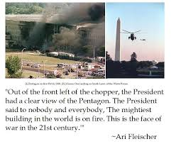 9 11 Quotes Fascinating Ari Fleischer Remembers George W Bush's Return To DC After 4848
