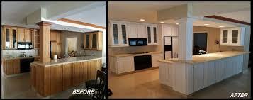 Painted Kitchen Cabinets Lunardi Decor